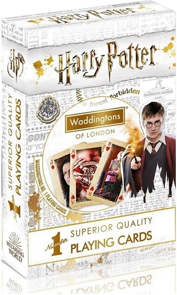 Karty do gry Waddingtons No.1: Harry Potter White