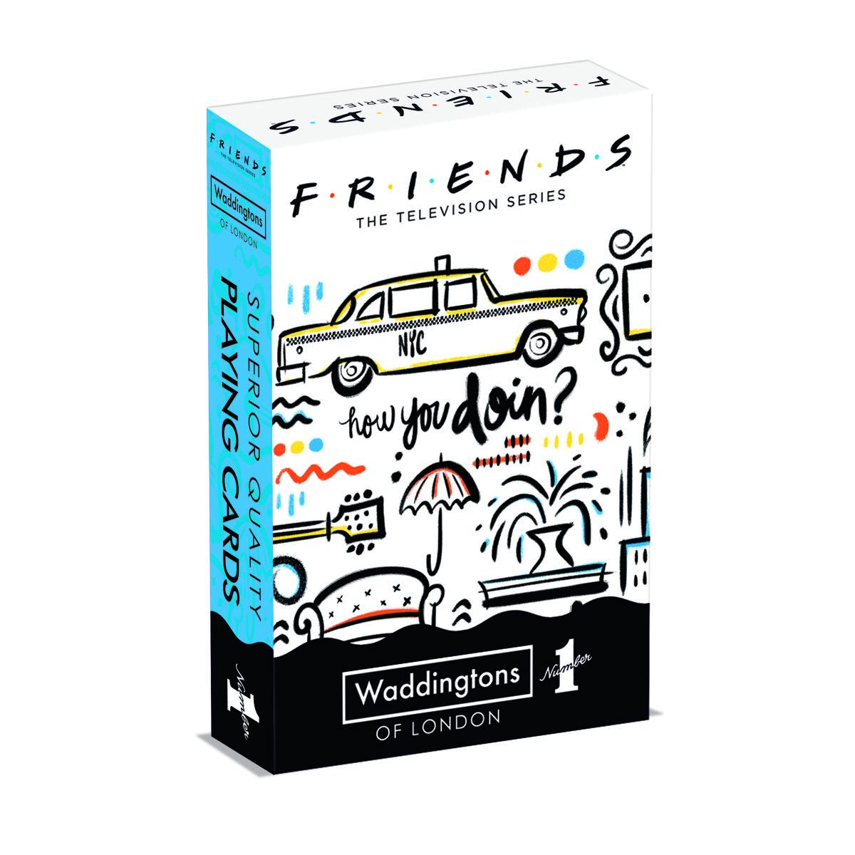 Karty do gry Waddingtons No. 1: Przyjaciele