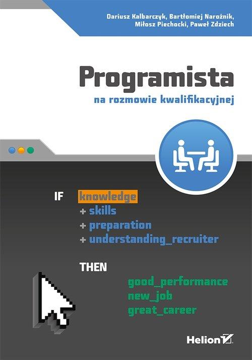 Programista na rozmowie kwalifikacyjnej