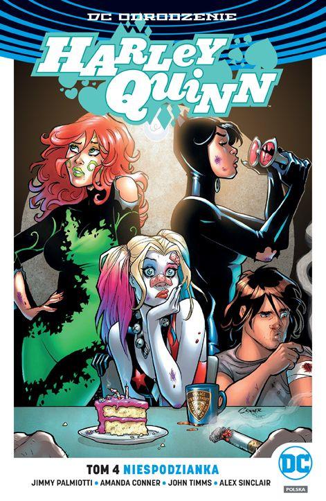 Harley Quinn. Niespodzianka. Tom 4