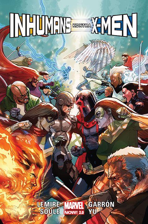 Inhumans kontra X-Men