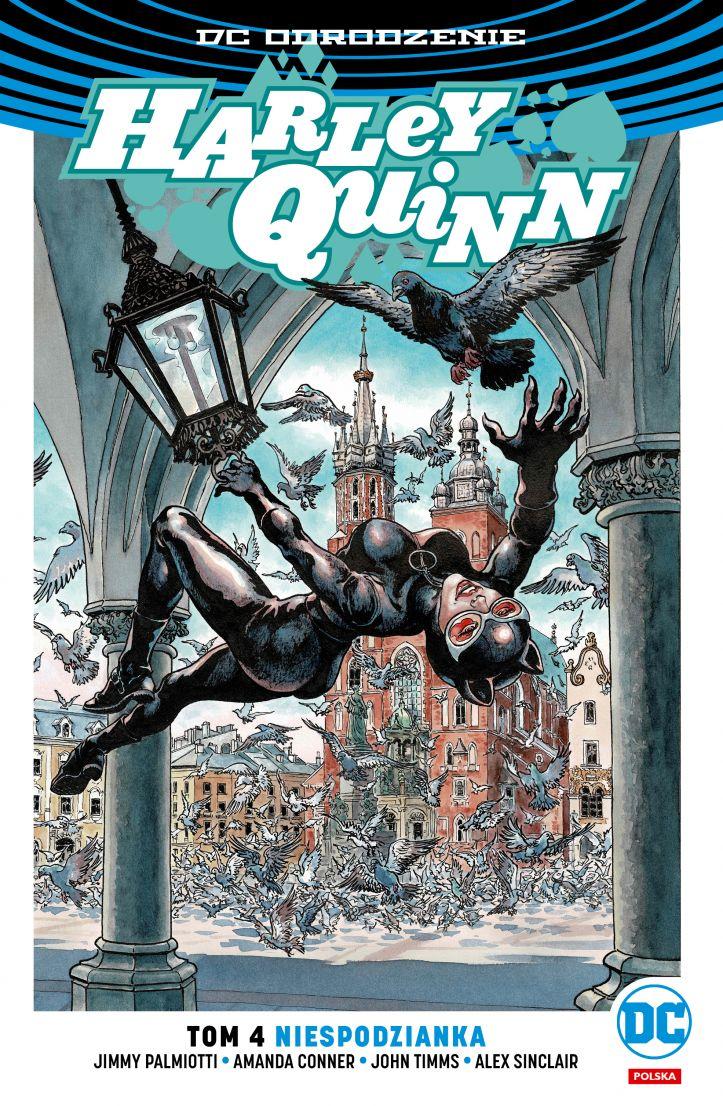Harley Quinn. Niespodzianka. Tom 4 – polska okładka Catwoman Kraków