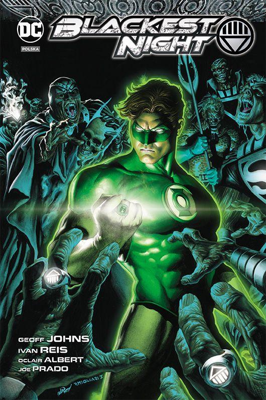 Green Lantern Najczarniejsza noc