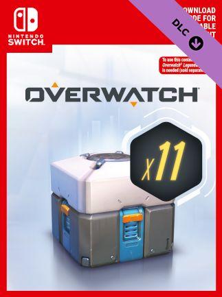 Overwatch - 11 loot boxów (Switch) Digital