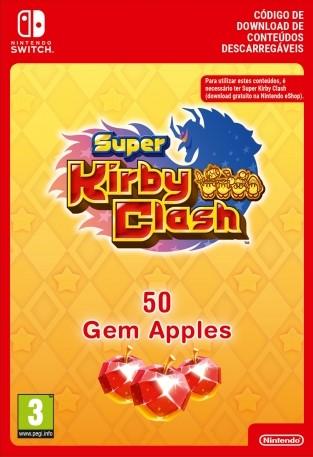 50 Gem Apples dla Super Kirby Clash (Switch) Digital