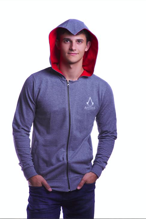 Assassin's Creed Legacy bluza z kapturem rozmiar XL + Assassin's Creed Playing Cards