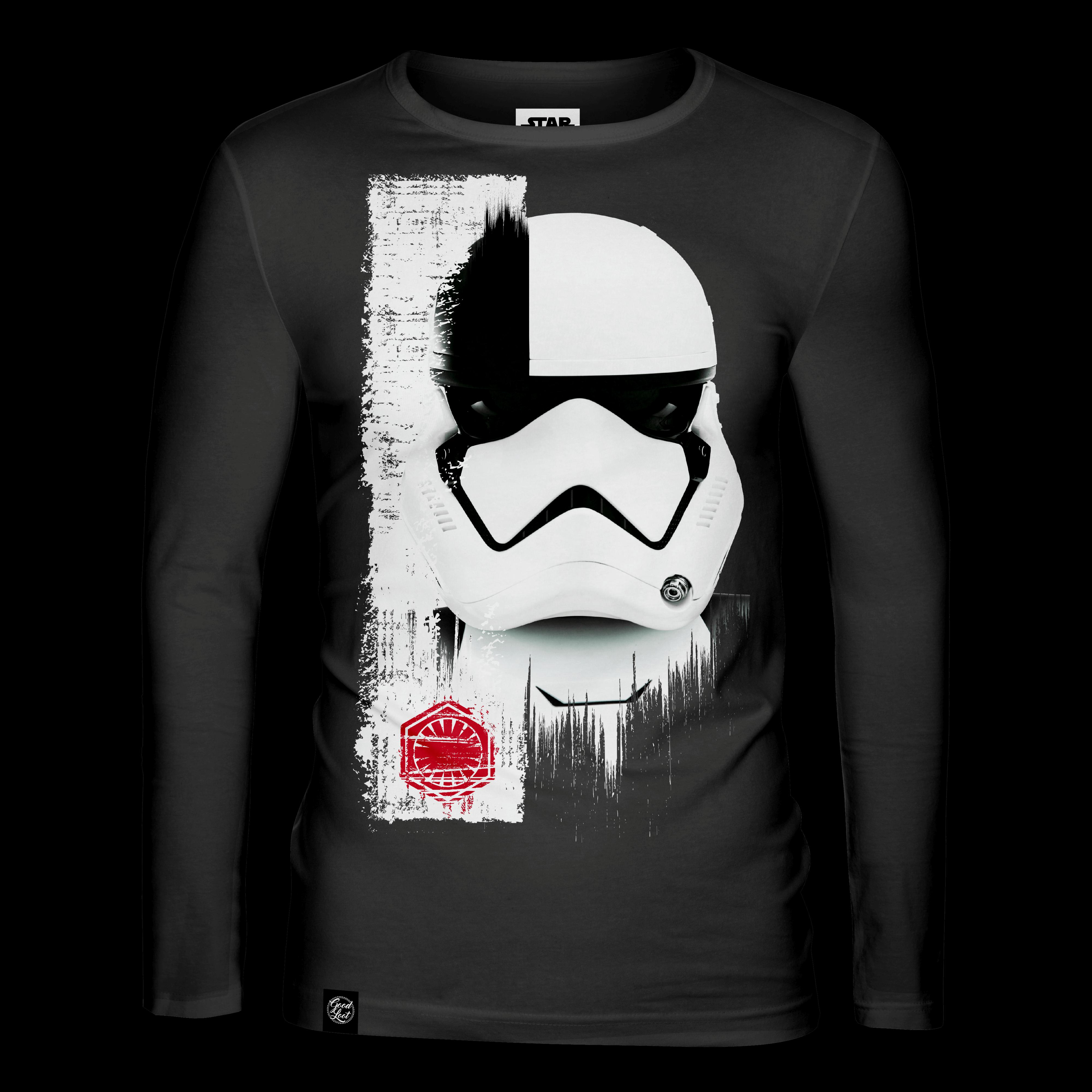 Star Wars Trooper Mask Long Sleeve T-shirt L