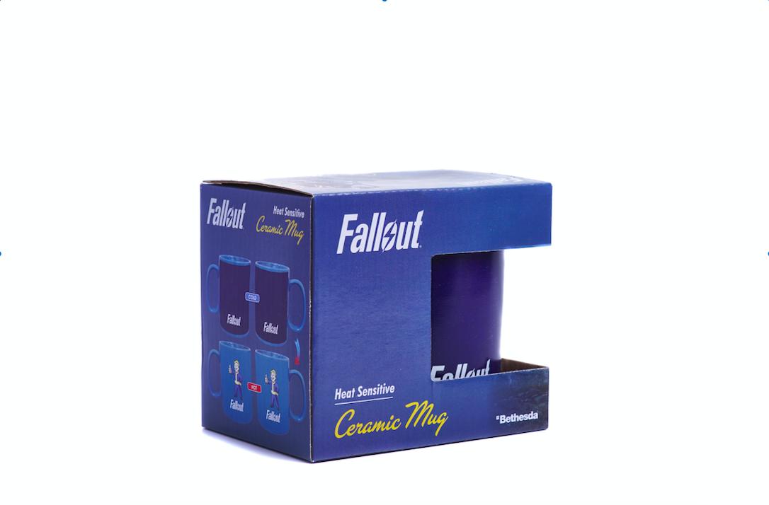 Fallout kubek zmieniający kolor pod wpływem ciepła