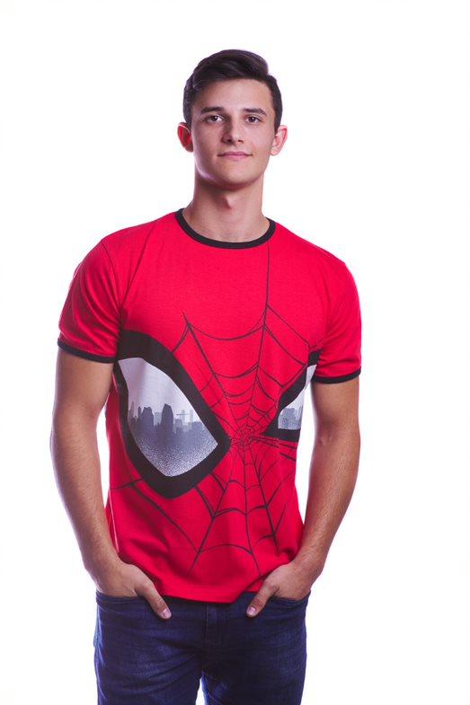 Marvel Spiderman Big Eyes T-shirt L