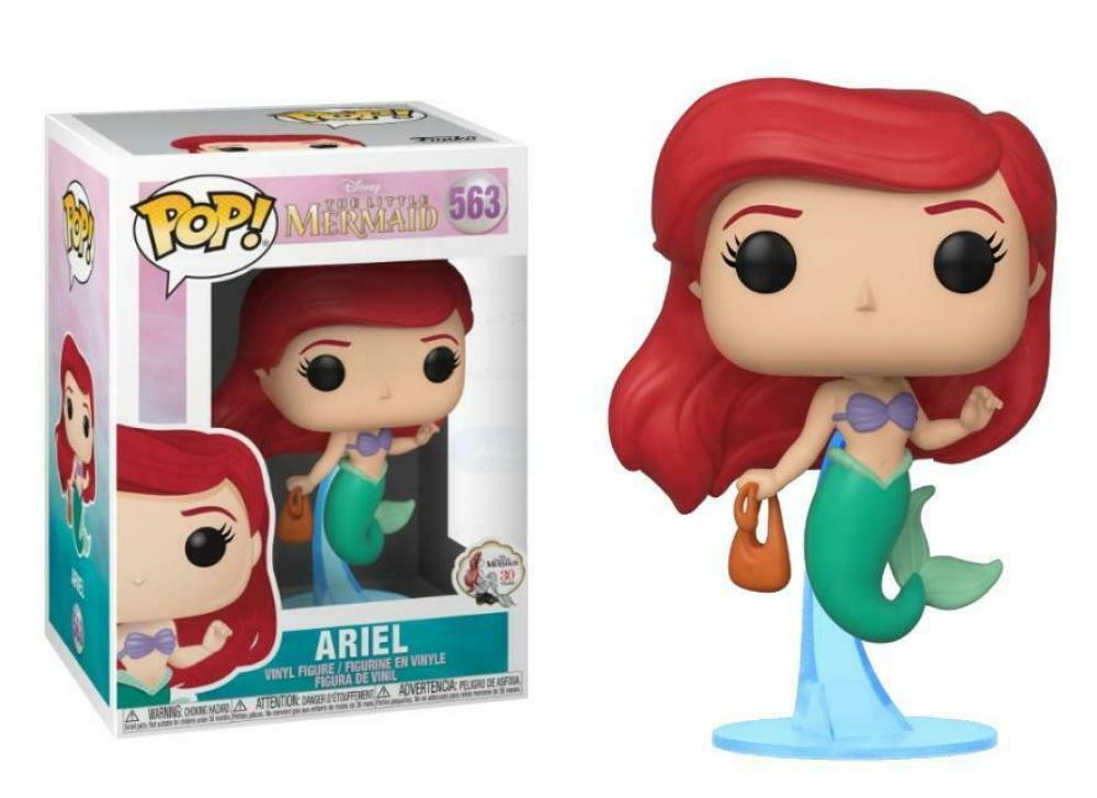 Funko POP Disney: Little Mermaid - Ariel w/bag