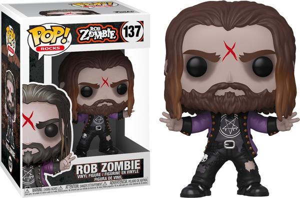 Funko POP Rocks: Rob Zombie ? Rob Zombie