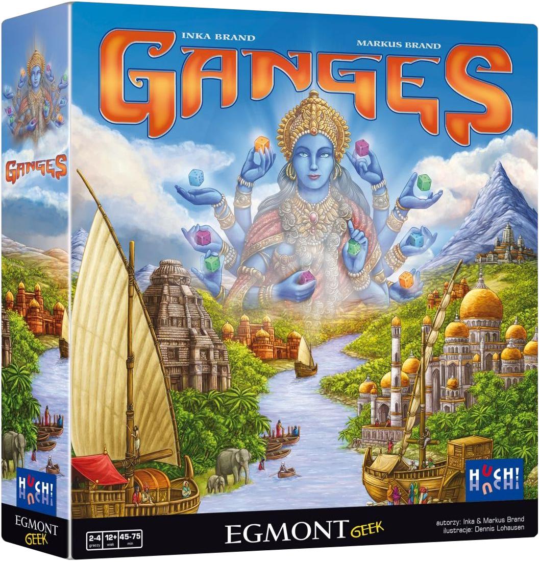 Ganges (Gra Planszowa) + Koszulka