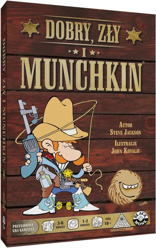 Dobry, Zły i Munchkin (Gra Karciana)
