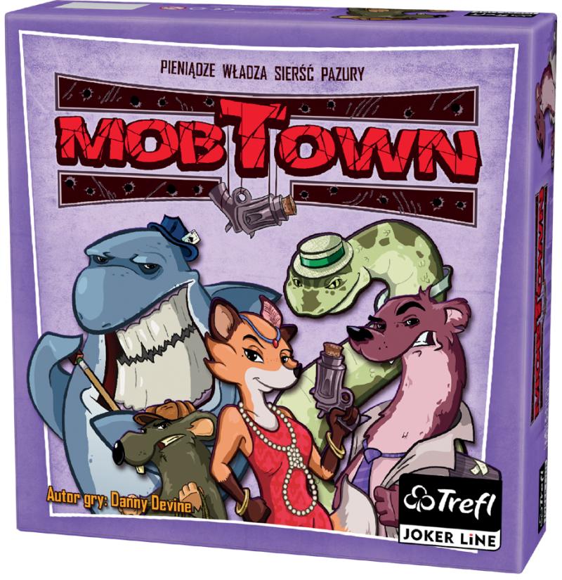 Mob Town (edycja polska) (Gra Planszowa) + Koszulka