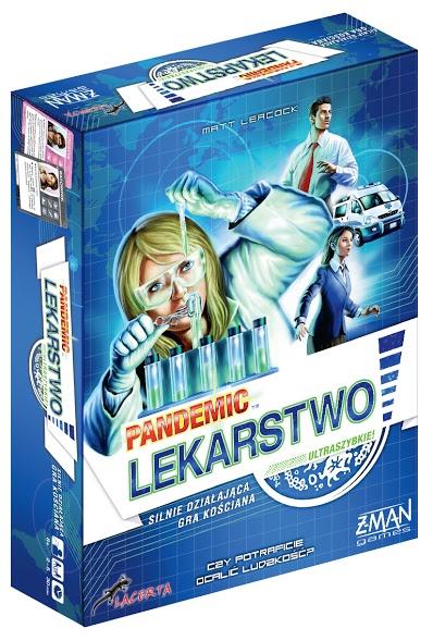 Pandemic (Pandemia): Lekarstwo (Gra Planszowa)