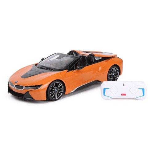 Auto R/C BMW i8 Roadster Rastar 1:14 pomarańczowy