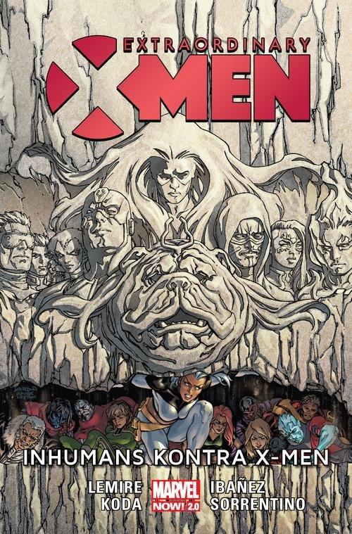 Extraordinary X-Men Inhumans kontra X-Men
