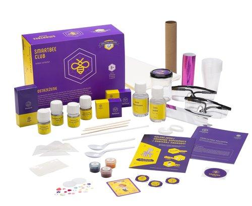SmartBee Club Zestaw eksperymentów Królestwo kolorów