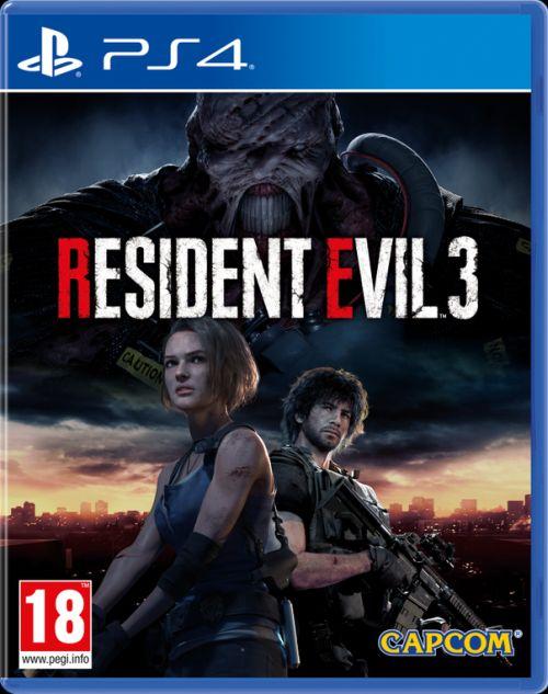 Resident Evil 3 (PS4) + BONUS!