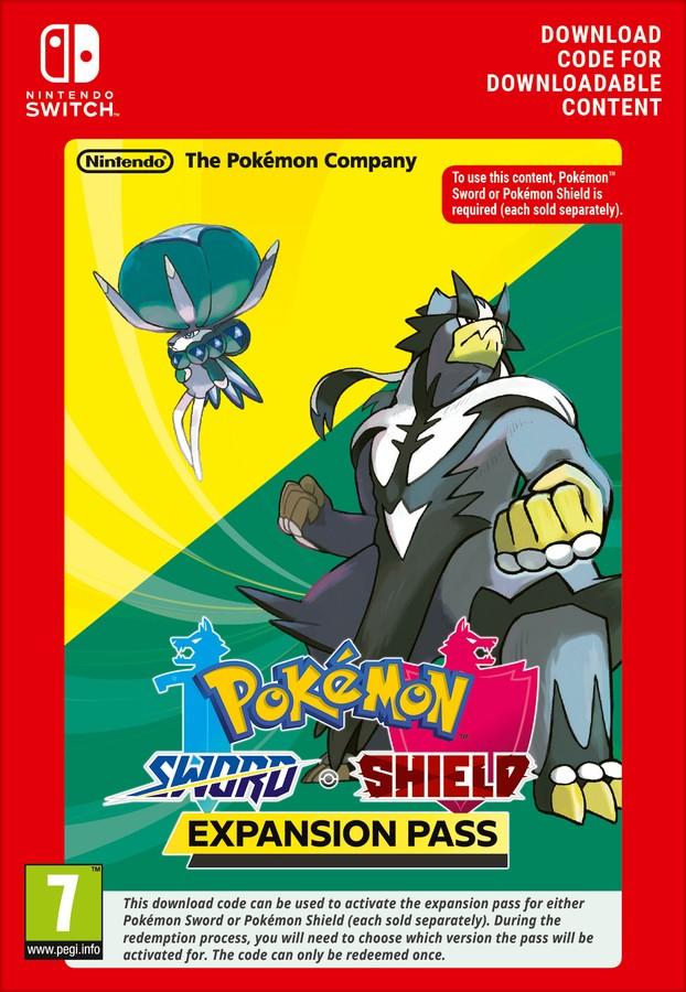 Pokemon Shield/Pokemon Sword Expansion Pass (Switch) DIGITAL