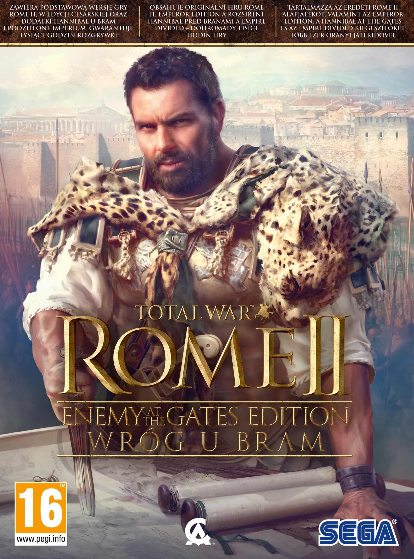 Total War: Rome 2 - Enemy at the Gates Edition Wróg u bram (PC) PL