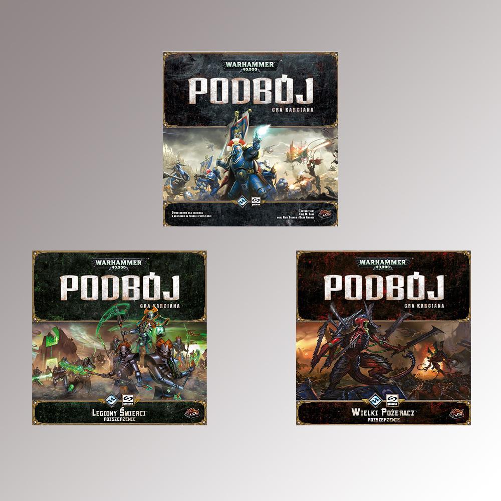 Warhammer 40 000 Podbój: Zestaw Podstawowy + Wielki Pożeracz + Legiony Śmierci