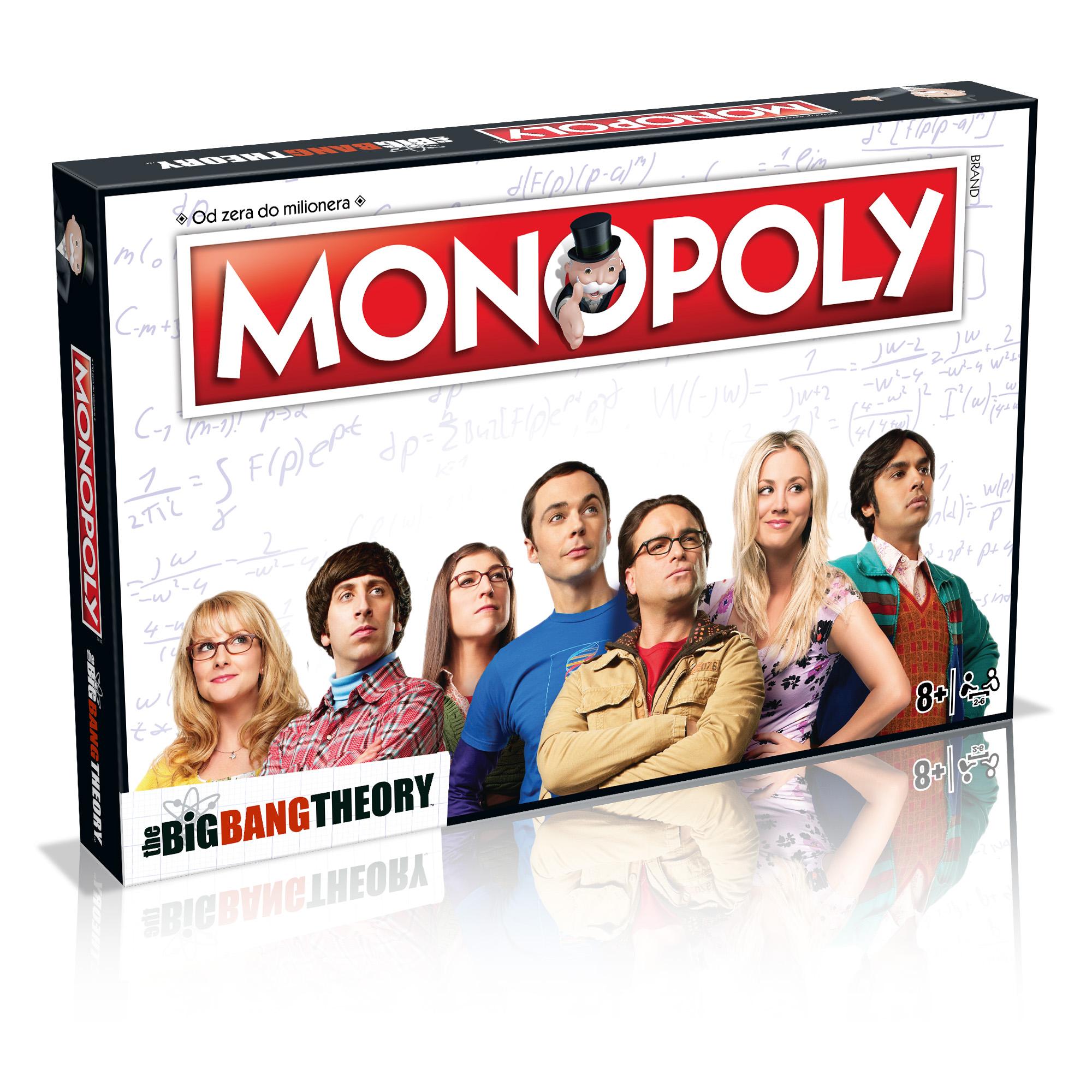Monopoly Teoria Wielkiego Podrywu (gra planszowa) PL