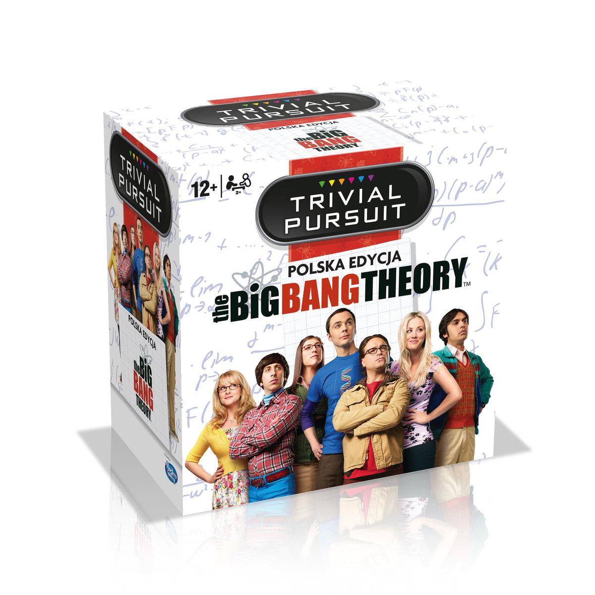 TRIVIAL PURSUIT: The Big Bang Theory - Teoria wielkiego podrywu (gra planszowa) (edycja polska)
