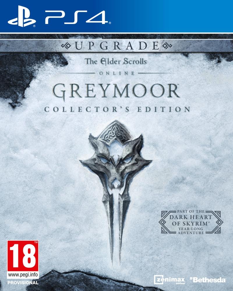 The Elder Scrolls Online: Greymoor Edycja Kolekcjonerska Upgrade (PS4) + Koszulka