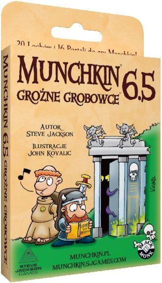 Munchkin 6,5 - Groźne Grobowce (gra karciana)