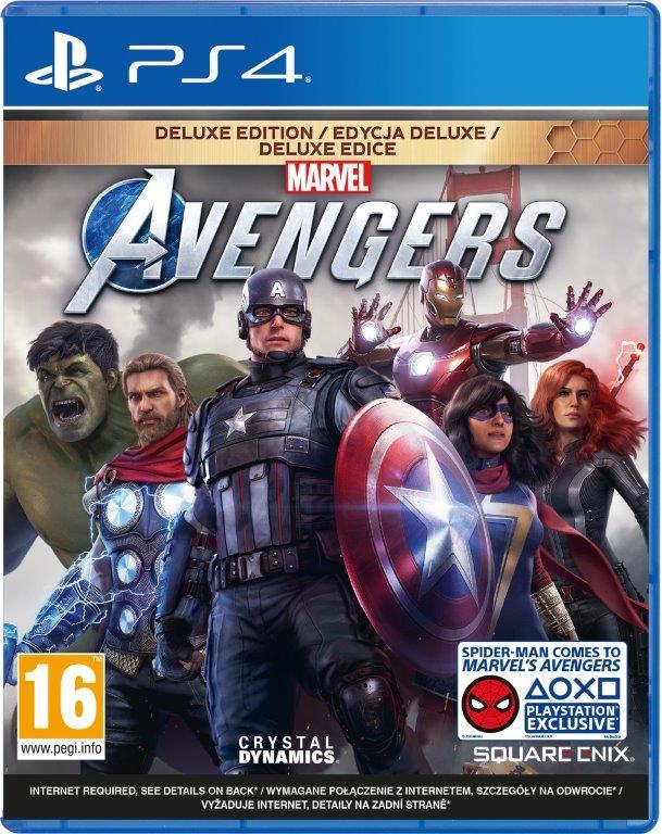 Marvel's Avengers Deluxe Edition (PS4) + Bonus