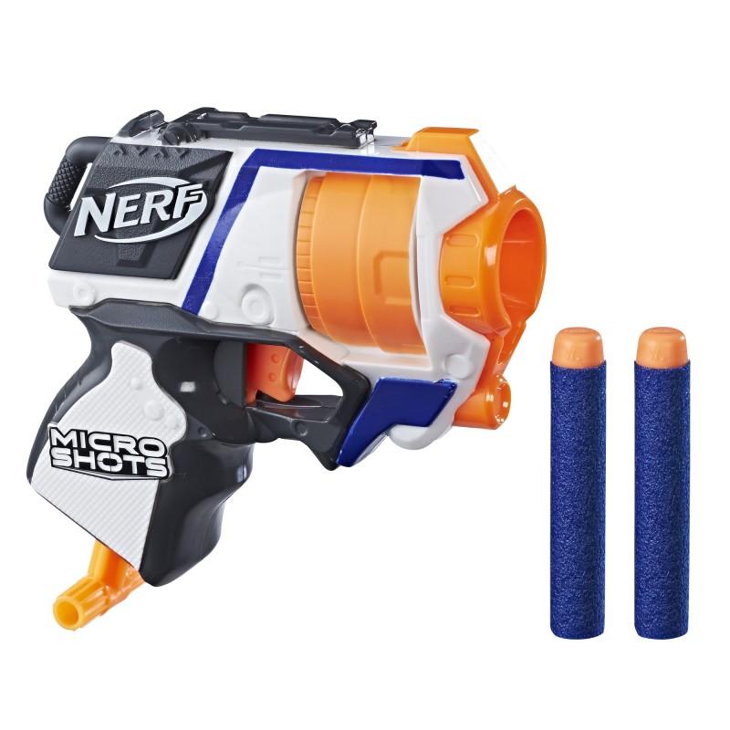 Nerf Hasbro N-Strike - Wyrzutnia Microshots Strongarm SE1 Elite
