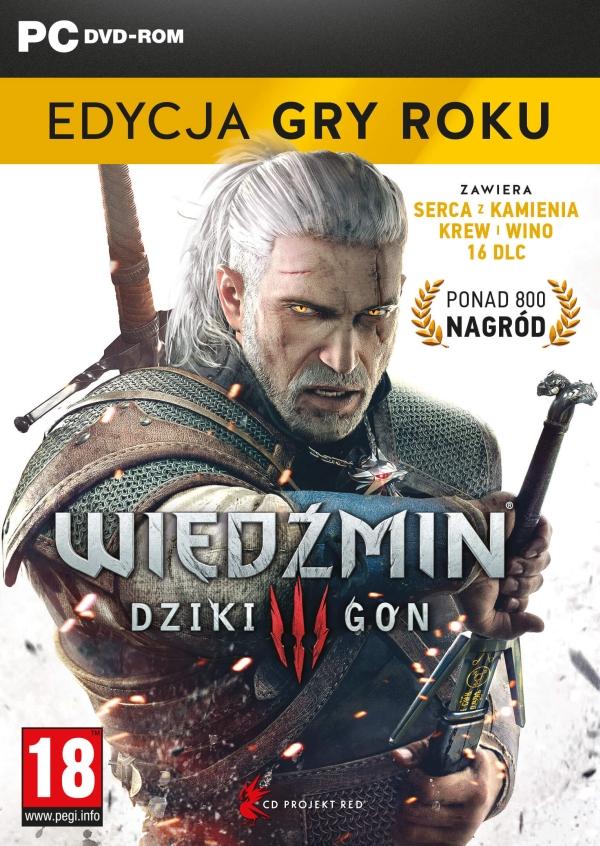 Wiedźmin 3: Dziki Gon - Edycja Gry Roku (PC)