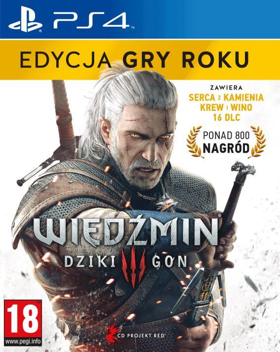 Wiedźmin 3: Dziki Gon - Edycja Gry Roku (PS4)