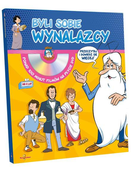 Byli sobie wynalazcy - Mini encyklopedia + płyta DVD