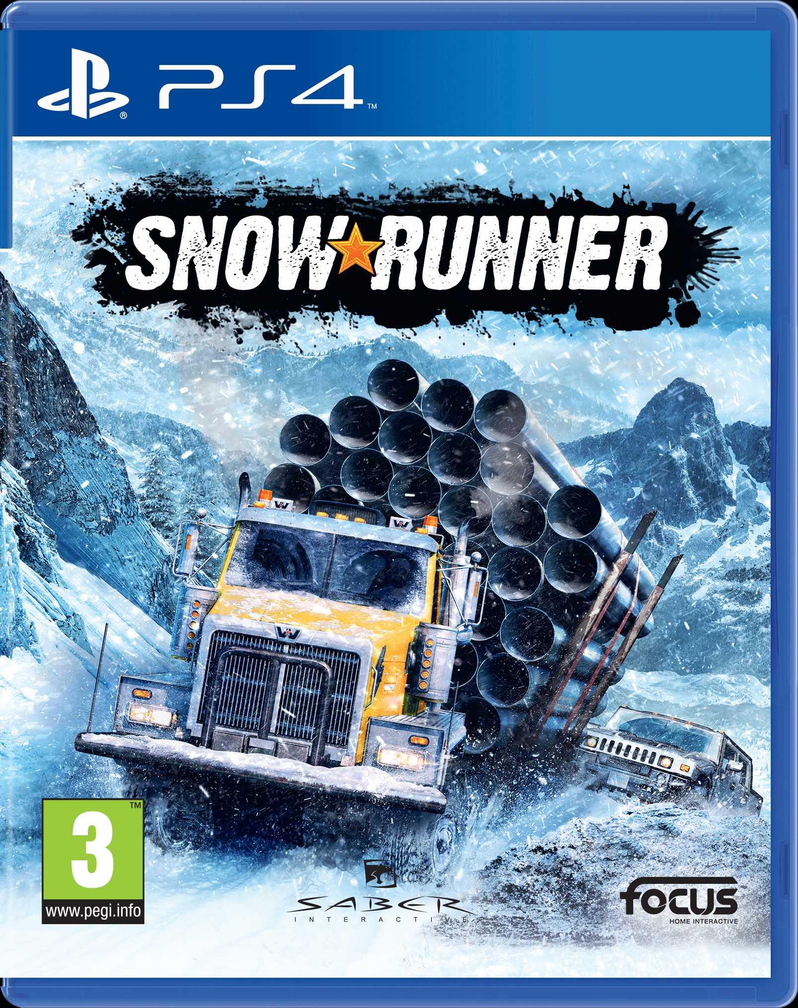 Snowrunner (PS4)
