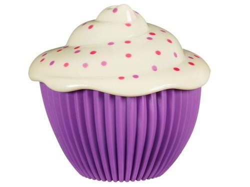 Mini cupcake Babeczka z niespodzianką fiolet