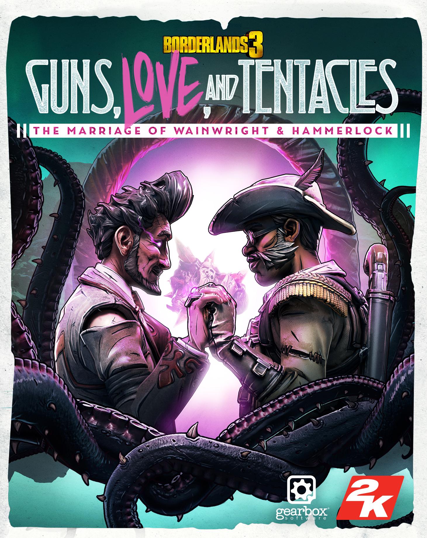 Borderlands 3: Guns, Love, and Tentacles DLC (PC) Klucz Epic