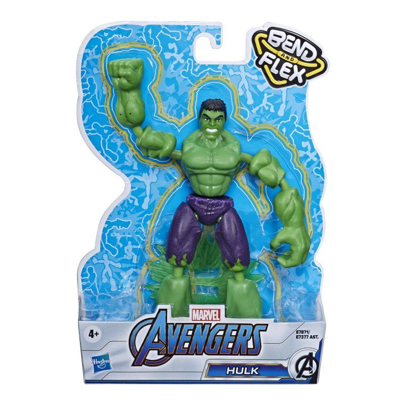 Hasbro Avengers Bend and Flex - Figurka 15 cm Hulk