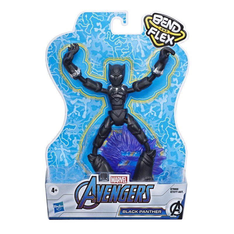 Avengers Bend and Flex - Figurka 15 cm Czarna Pantera
