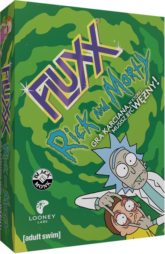 Fluxx Rick and Morty (Gra Karciana)