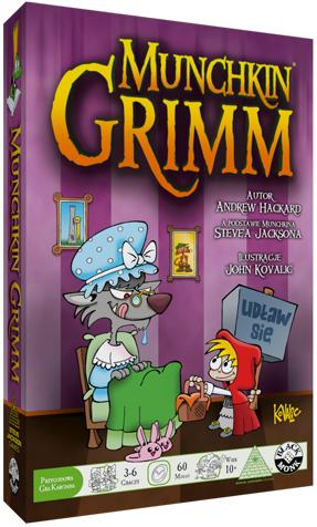 Munchkin Grimm (Gra Karciana)
