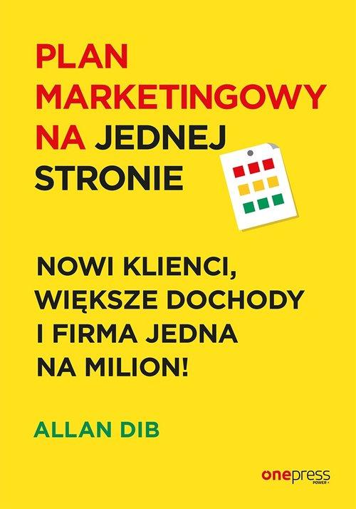 Plan marketingowy na jednej stronie