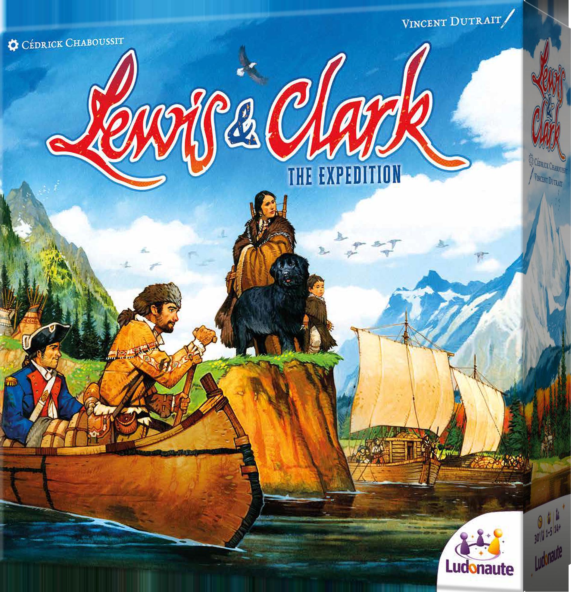 Lewis & Clark: The Expedition (edycja polska) (gra planszowa)