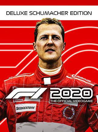 F1 2020 Deluxe Schumacher Edition (PC) PL Klucz Steam