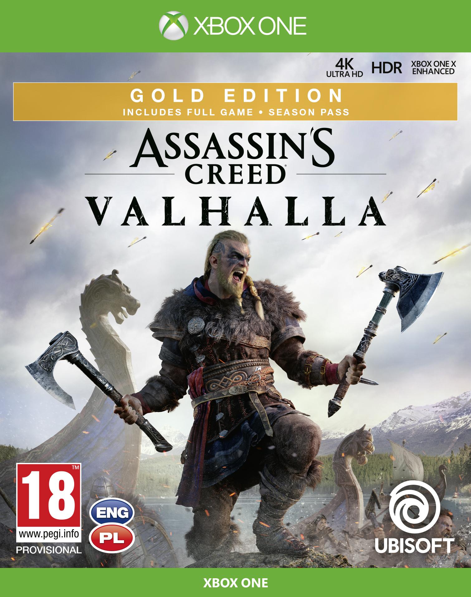 Assassin's Creed Valhalla Gold Edition (XOne) + BONUS
