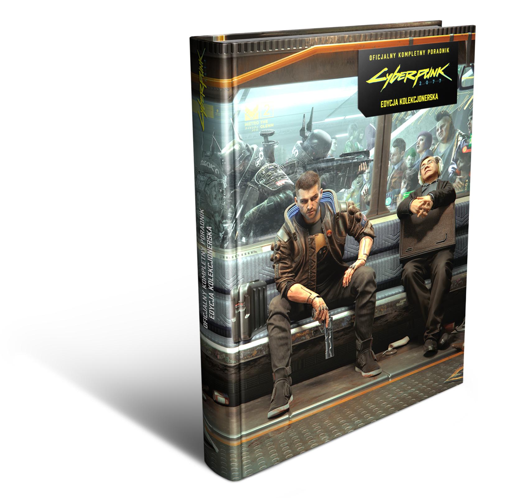 Cyberpunk 2077 - Oficjalny kompletny poradnik Edycja Kolekcjonerska