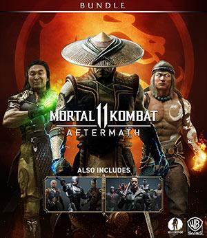 Mortal Kombat 11 Aftermath + Kombat Pack Bundle Klucz Steam