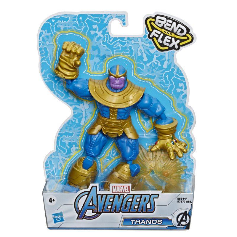 Avengers Bend and Flex - Figurka 15 cm Thanos