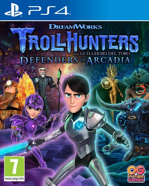 Trollhunters (Łowcy Troli) : Defenders of Arcadia (PS4)